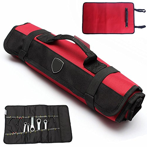 22 Pockets tool organizer bag for technician telecom men service...