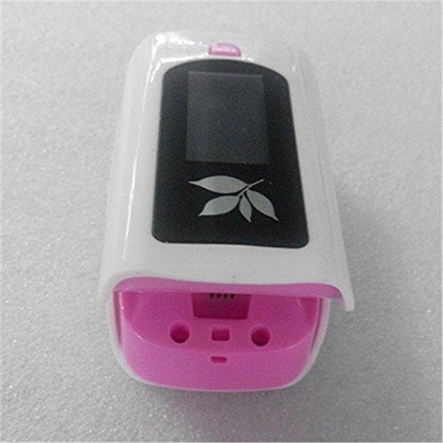 Finger Pulsoximeter Handgelenk Blutdruckmessgerät Herzfrequenz Körpertemperatur Oximeter , Pink