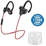 #10: Captcha Qc-10 Jogger Sports Bluetooth Mic Headset With Stereo Earphone With 3.5Mm Jack Suitable with all Android or Iphone Devices (1 Year Warranty, Color May Vary)