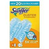 Swiffer Staubmagnet-Tücher (Nachfüller mit Febreze-Duft, neun Tücher)