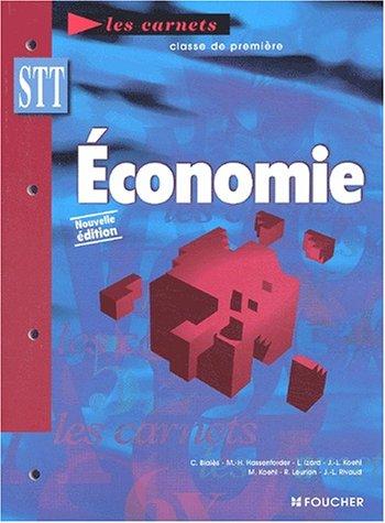 Les Carnets : Économie, BAC STT