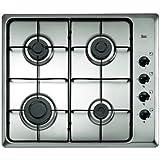 Teka Cocina Hlx 60 4G aluminio natural (Es)