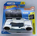 Hot Wheels 2018 Experimotors 7/10 Zoom In White Hero 5 Session works with GoPro 341/365 (Short Card)