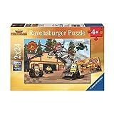 Ravensburger 09084 - Disney Planes: Immer im Einsatz, 2 x 24 Teile Puzzle