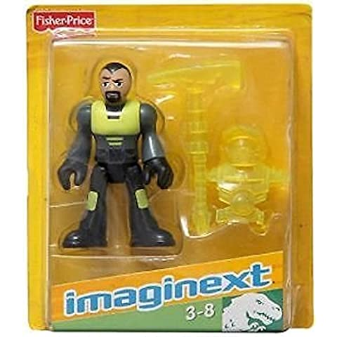 Fisher Price Imaginext Dino Tech figure
