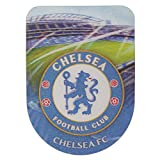 Chelsea FC Official Universal 3D Football Crest Skin Sticker (Large) (Blue/Green)
