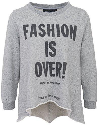 5Preview maglione da donna Christine in pile grigio melange Grey Small