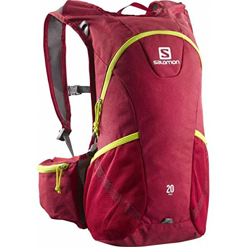 Salomon Mochila Trail 20 Red Chine-Gecko Green Talla UNICA