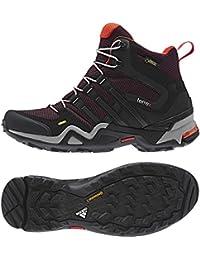 best sneakers a5d8c 266eb Adidas Af5973 Schnelle X High Gtx Wanderschuhe, Pappe  schwarz   Tech-Beige -