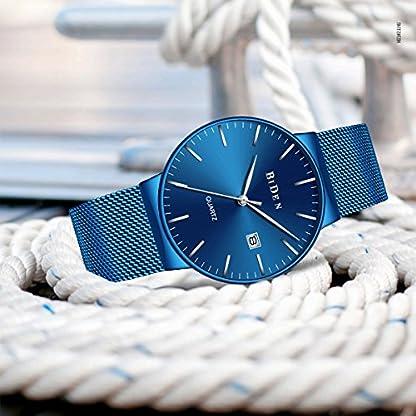 Herren-Blau-Uhren-Mnner-Edelstahl-Wasserdicht-Mesh-Uhr-Datum-Kalender-Einfache-Designer-Analoge-Quarzuhr-Herren-Luxus-Geschft-Klassisch-Kleid-Gents-Uhren-fr-Mnner