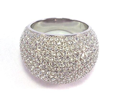 Swarovski 1156315 - Anillo con cristales Swarovski, talla 58