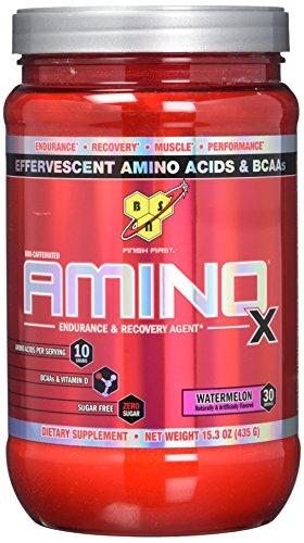 BSN Supplemento Nutrizionale Amino X, 30 Srv, Watermelon It/Fr/Sp - 1000 gr