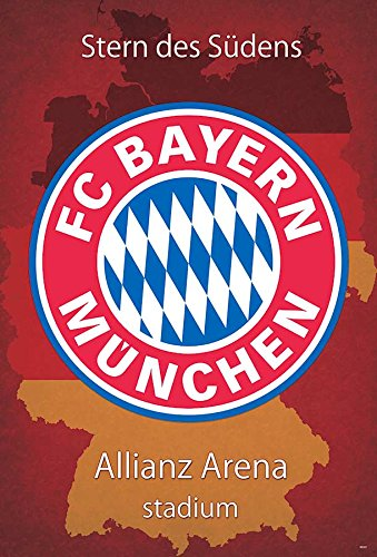 Bayern München 2018 Logo XL Poster A1 ca. 58 x 87 cm