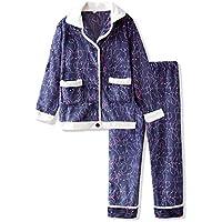 DUKUNKUN Pijamas Sencillos Y Frescos Dibujos Animados Pijamas Dulces Y Encantadores Cálidos Mujeres Otoño E Invierno,L