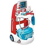 Smoby - 340202 - Jeux d'imitation - Chariot Médical Electronique