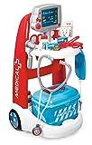 Smoby - 340202 - Jeu d'Imitation - Chariot Médical Electronique - + Accessoires Inclus
