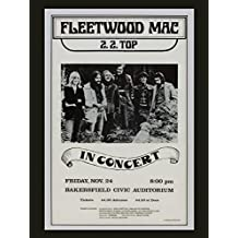 Fleetwood Mac reproduction Concert photo affiche 40x30cms