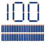 Nerf Darts, StillCool 100 Stück 7.2cm Schaumstoff Saugnapf für Nerf N-Streik Elite Series Blasters Spielzeugpistole (Blau)