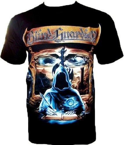 Blind Guardian T-shirt Maglietta da Fan Nero Black R290 nero S