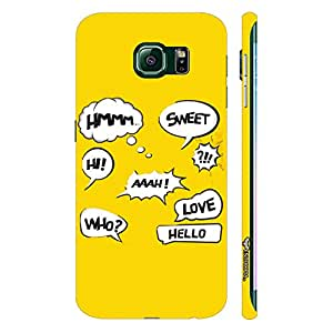 Samsung Galaxy Note5 Edge Whose There? designer mobile hard shell case by Enthopia