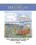 Löwe 2020: Sternzeichenkalender-Cartoonkalender als Wandkalender im Format 19 x 24 cm. -