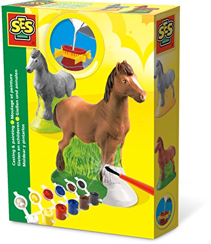 Ses Creative - Mold and paint, Horse, (01211)