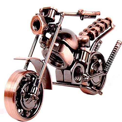 Hierro Modelo De La Motocicleta De Metal Artesanías Decorativas De Mo