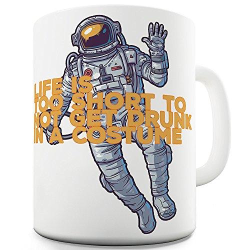 nk in einer Halloween-Kostüm Keramik Funny Tasse (Halloween Astronaut Kostüm)