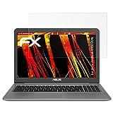 atFolix Folie für ASUS ZenBook UX510UW Displayschutzfolie - 2 x FX-Antireflex-HD hochauflösende entspiegelnde Schutzfolie