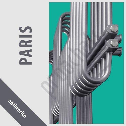 RADIATEUR SALLE DE BAINS sèche- serviettes PARIS anthracite P-25 1300x700
