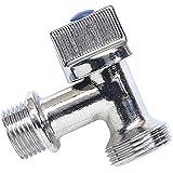 Boutt 3120755 ML - Grifo de cuarto de vuelta para lavadora (15 x 21, empalme 20 x 27)