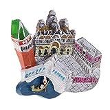 perfk Imanes de Nevera Coleccionable para Hogar Recuerdos de Atracción Turística Mundial - Venecia