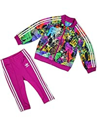 8173f3e8b Adidas Chándal Infantil Animal Superstar, otoño/Invierno, Infantil, Color  Top:Multicolor