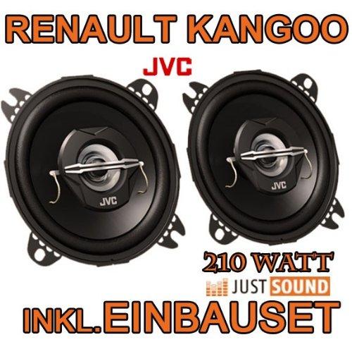 Renault Kangoo 1 - Lautsprecher - JVC CS-J420 - 10cm Koaxe