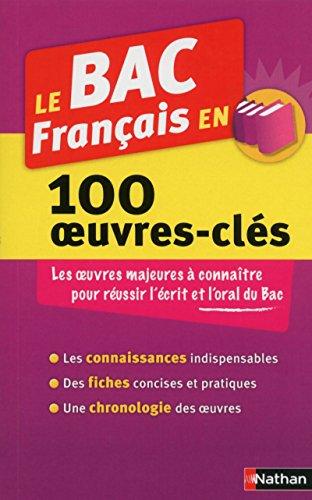 Le BAC Français en 100 oeuvres-clés