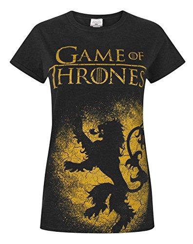 Game of Thrones -  T-shirt - Maniche corte  - Donna Black Medium