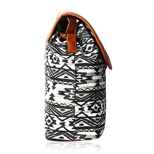 Kleio Women's Sling Bag (Multicolor,Bnb316Ly-Bwb) Image 4