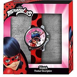 Ladybug Lady Bug- Reloj de Pulsera Aloy Caja Lisa (LB17116), (Kids Licensing 1)