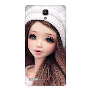 Cute Innocent Angel Doll Back Case Cover for Redmi Note