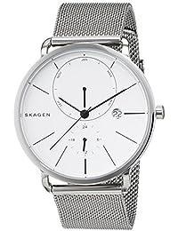 Skagen Herren-Armbanduhr Analog Quarz Edelstahl SKW6240