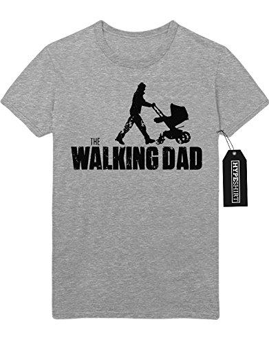 T-Shirt The Walking Dad Baby Buggy C978249 Grau