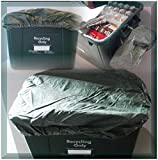 RECYCLING BOX / BIN /3X COVERS FOR COUNCIL RECYCLE BOX - GREEN(BOX NOT INC)