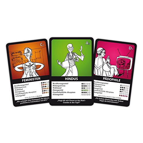 Minderheiten Quartett Karten