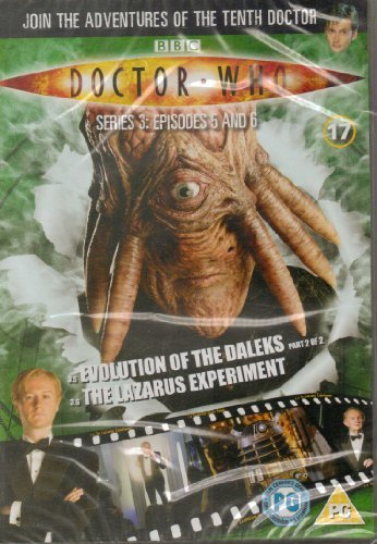 Doctor Who Dvd Files #17 - Series 3 Episodes 5 & 6 - Evolution Of The Daleks & The Lazarus Experiment - DVD ONLY