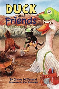 Duck and Friends: The Dinosaur Bones (English Edition) par [McFarland, Donna Gielow]