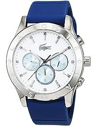 Lacoste Damen-Armbanduhr Analog Quarz Silikon 2000942