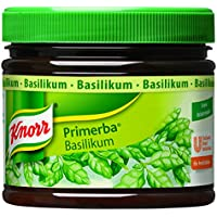 Knorr Primerba Kräuter in Öl Basilikum, 1er Pack (1 x 340g)