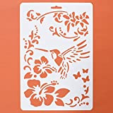 Asian Hobby Crafts Craft Stencils For Sketching Scrapbooking Kids Crafts - Kingfisher