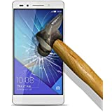 9H Tempered Glass - Protector de Pantalla para [ Huawei Honor 7 ] Cristal Vidrio Templado Premium, Ultra Resistente a Arañazos, Dureza 9H
