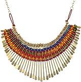 Nnits Multicolor Non-Precious Metal Chok...